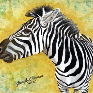 Tobias The Zebra