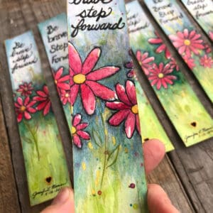 Bookmark - Inspirational Flower Collection